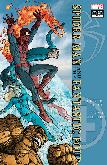 SPIDER-MAN/ FANTASTIC FOUR #1 (2010)