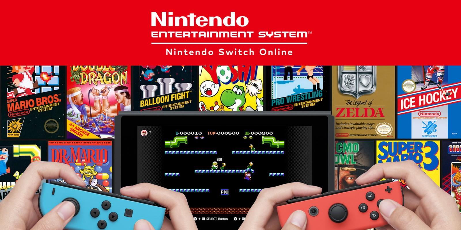 Emulador de NES en la Nintendo Switch