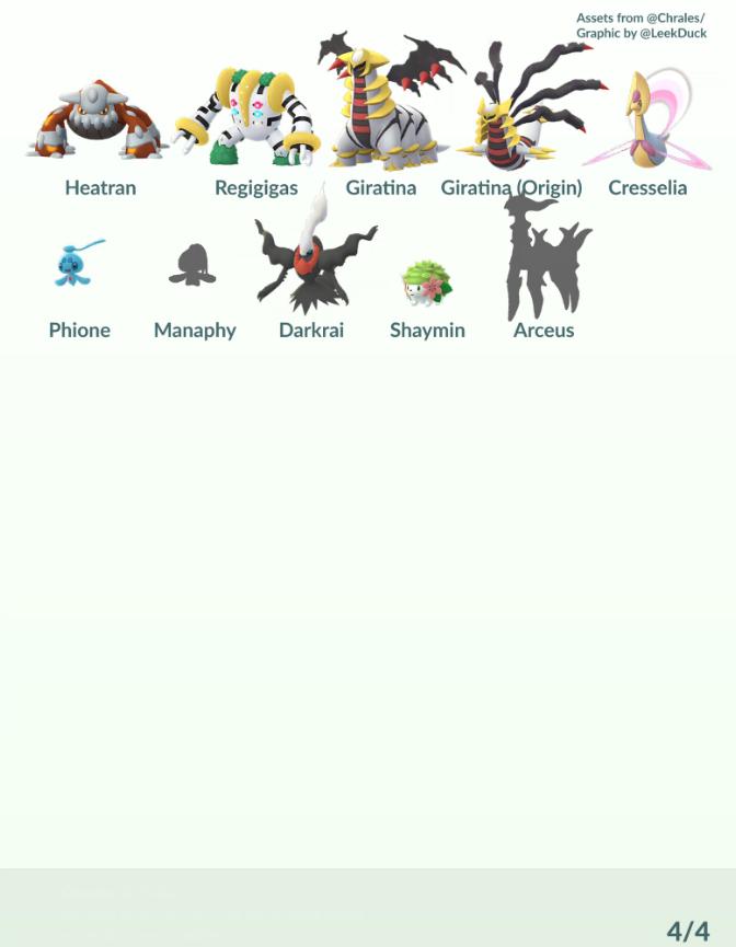 Pokémon GO Cuarta generación ya está aquí y estos son los nuevos ...