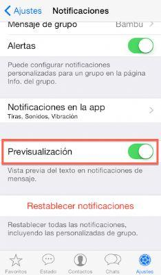 Whatsapp vista previa