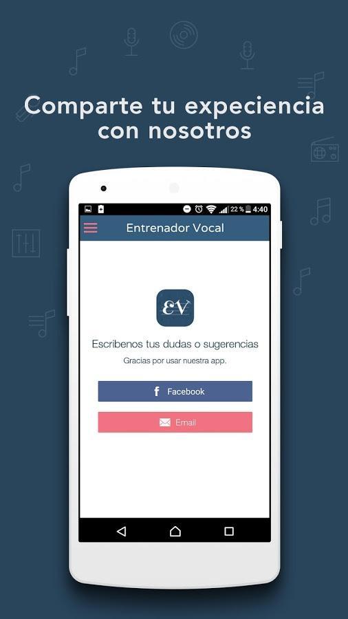 aplicación, celular, cantar