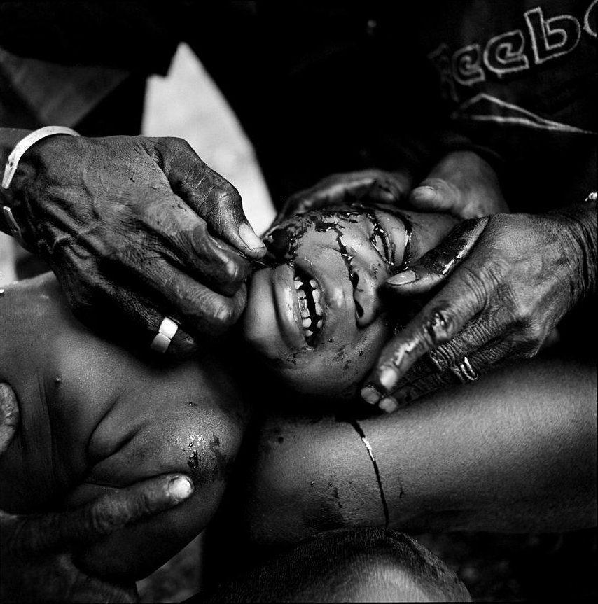 Niños en África.