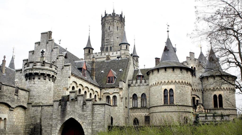 Alemania, Castillo de Marienburg