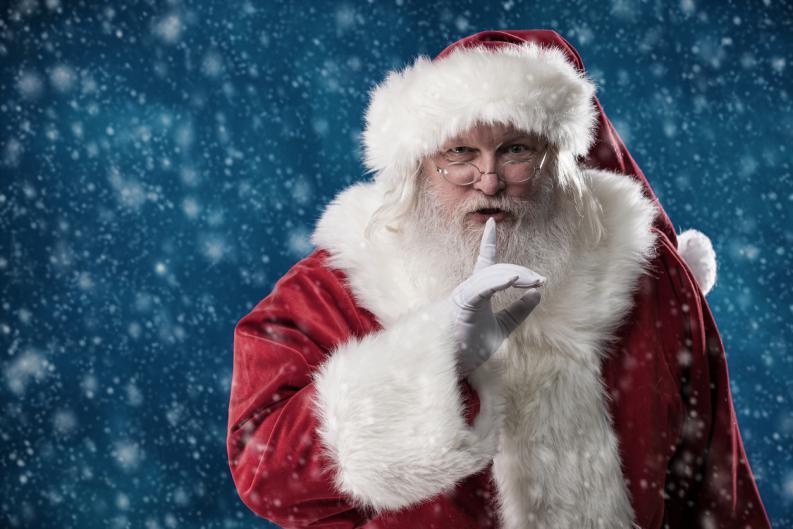 Papá Noel secreto
