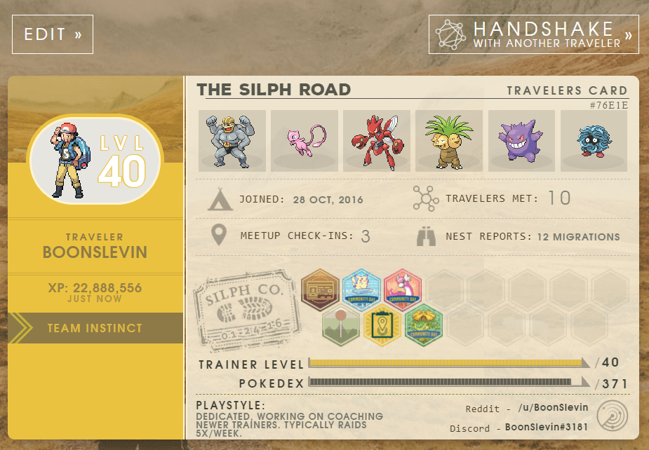 Pokémon GO: Silph League Arena would be the first