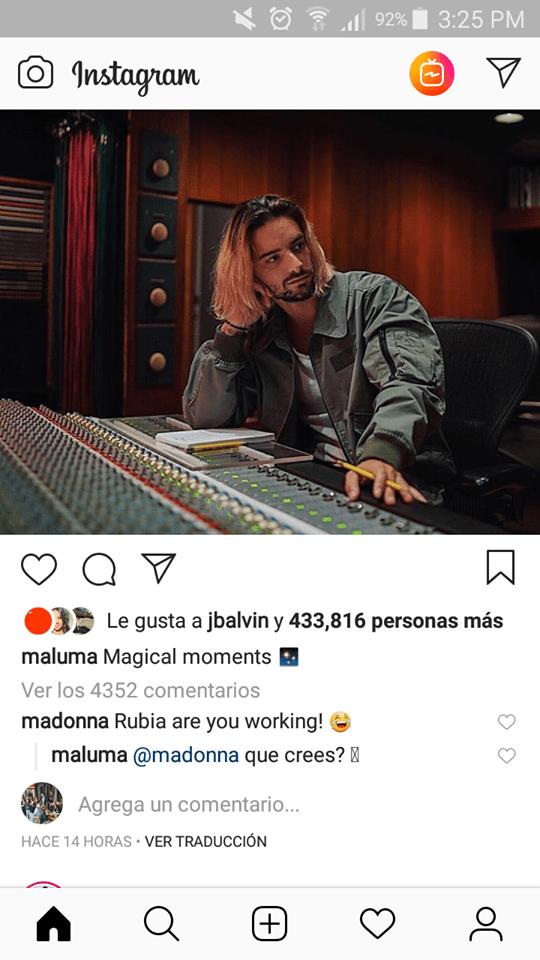 Maluma Madonna