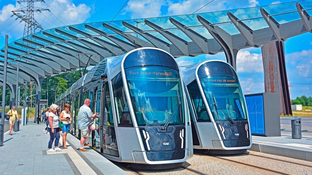 Transporte público Luxemburgo