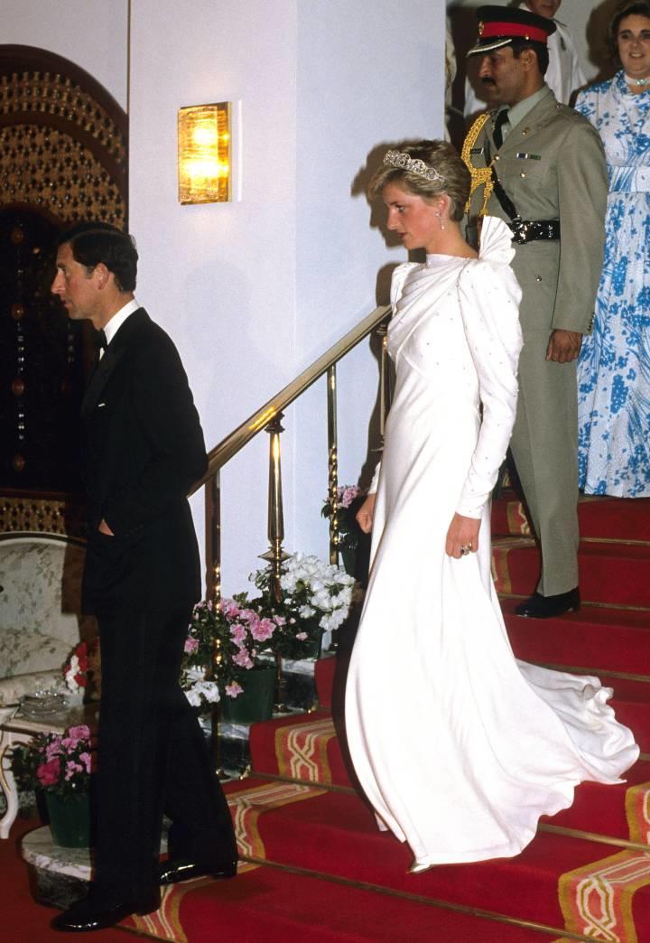 Vestido de Lady Di