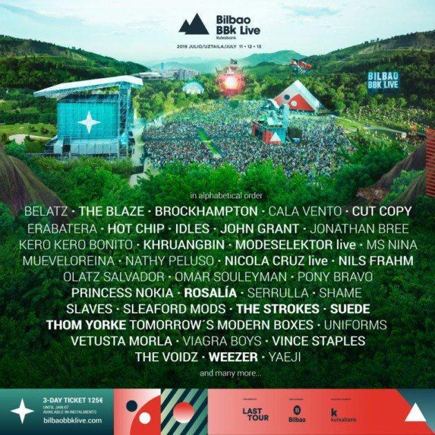 Banda festival BBK Live
