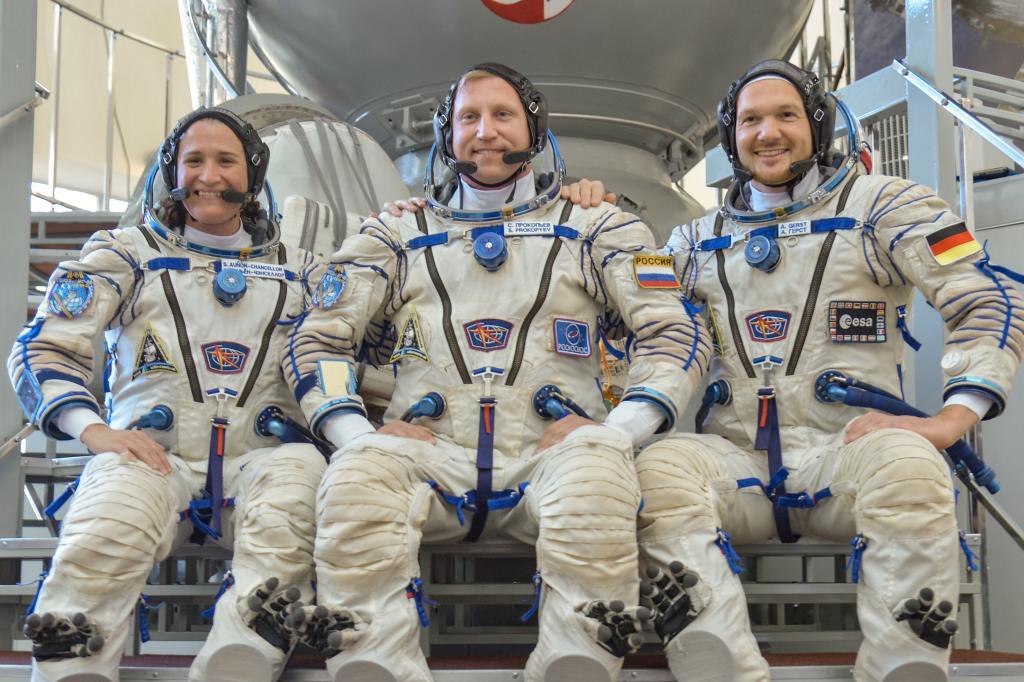 Soyuz MS-09 tripulación