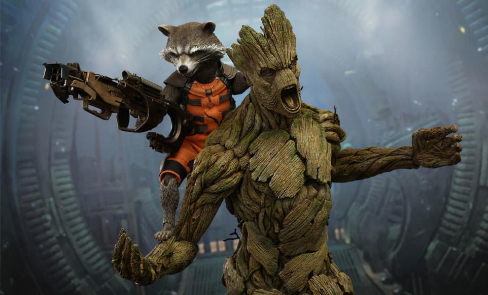 Rocket y Groot