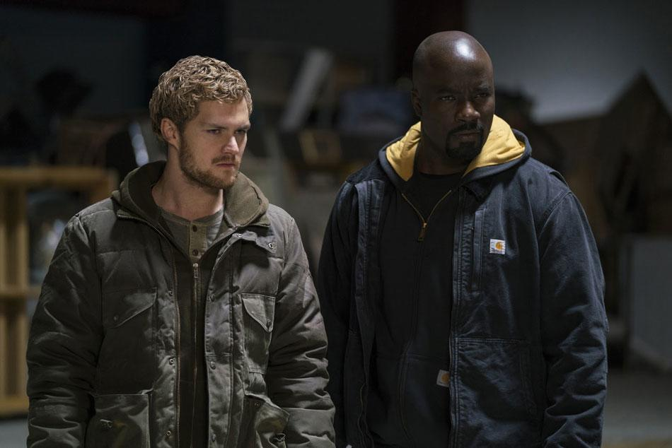 Luke y Iron Fist