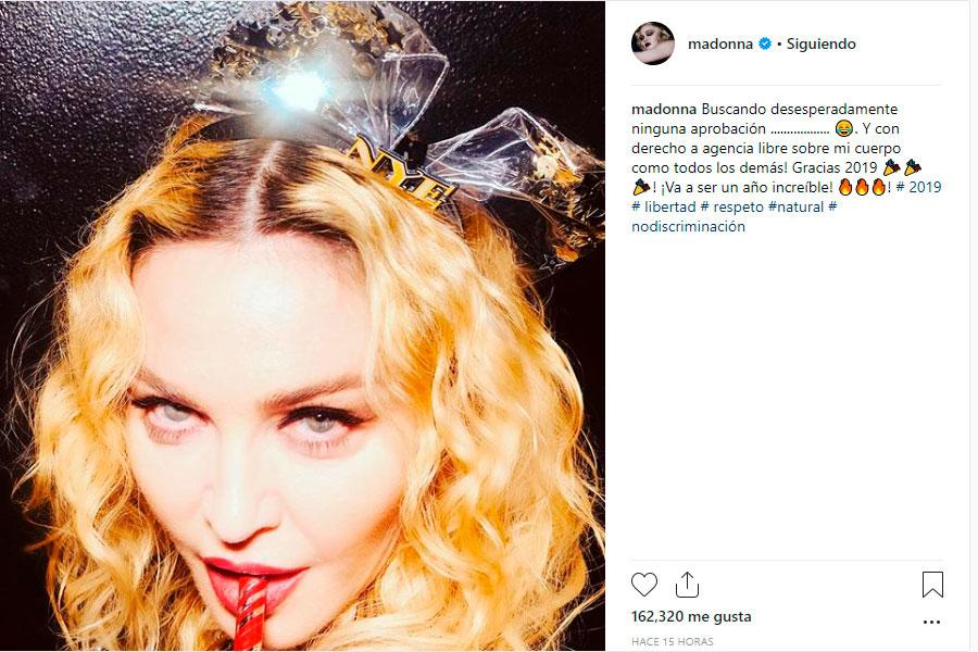 Madonna responde a trolls por foto viral