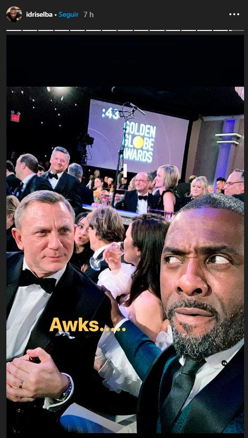 Idris Elba reemplazaría Daniel Craig como James Bond