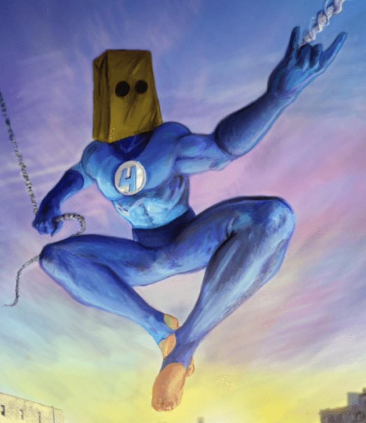 Bombastic Bag-Man Suit