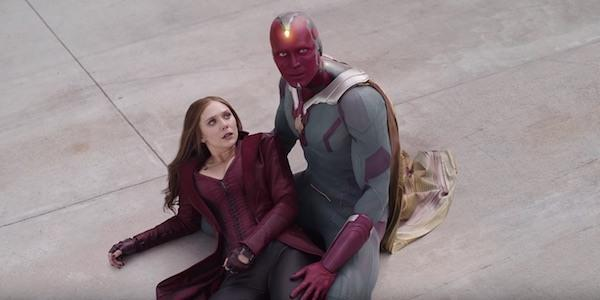 Vision y Scarlet Witch