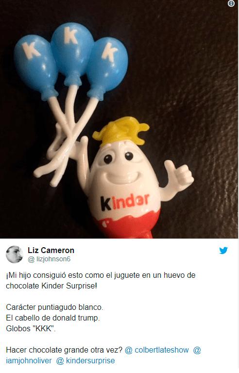 Huevos Kinder en Twitter desatan polemica