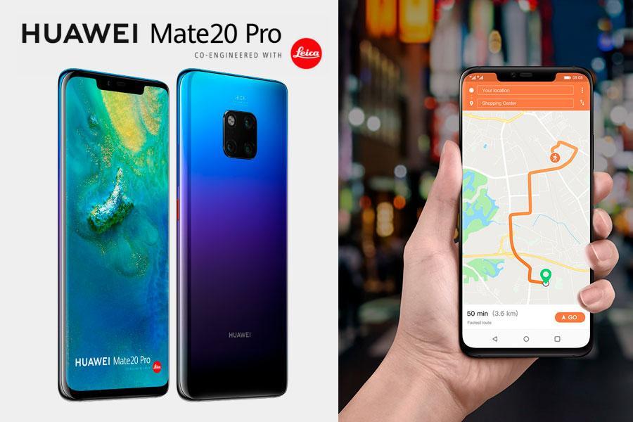 Huawei conectividad móvil 5G tecnología de IA