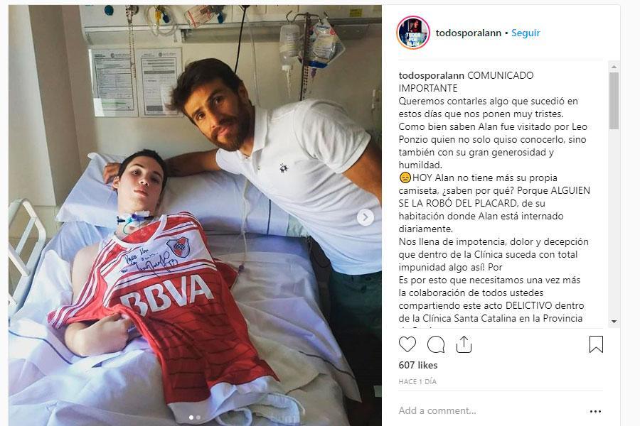 Roban camiseta firmada por capitan del River Plate