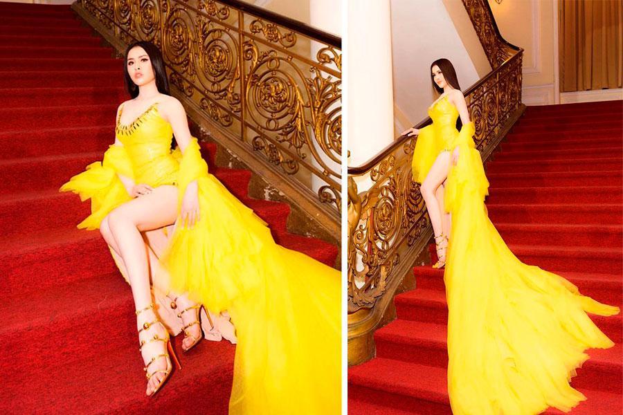 Modelo Thu Dung fue criticada duramente en redes sociales