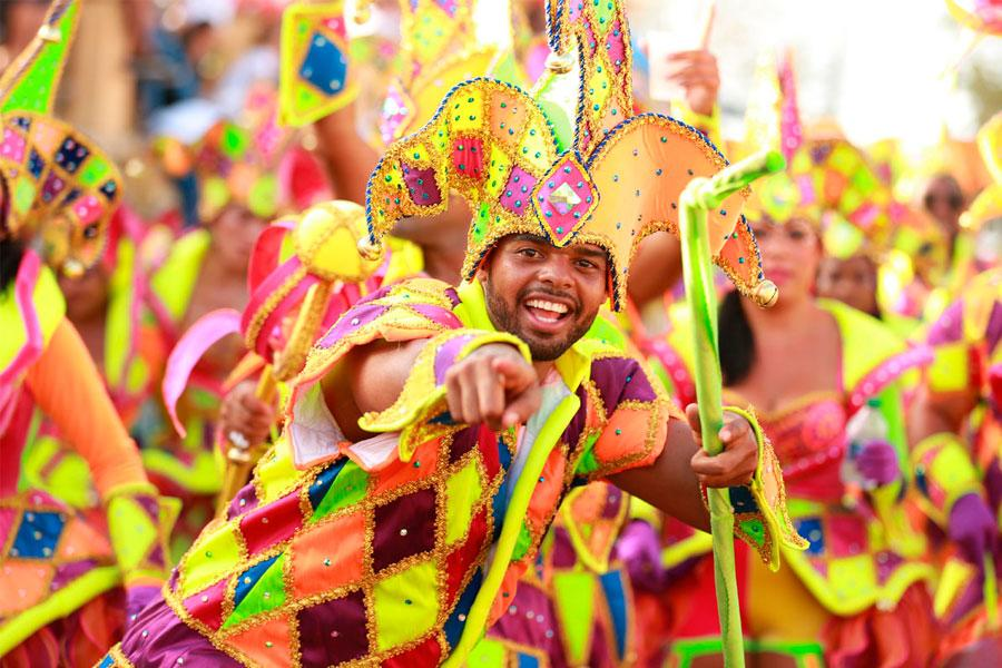 Carnaval de Aruba la rompe en redes sociales