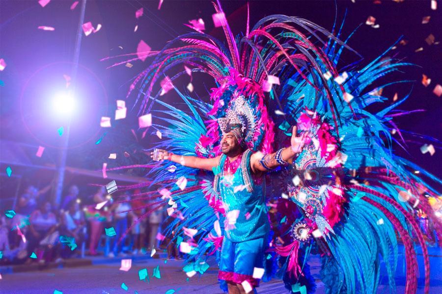 Carnaval de Aruba en Instagram