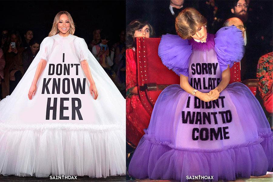 La colección de moda se volvió meme