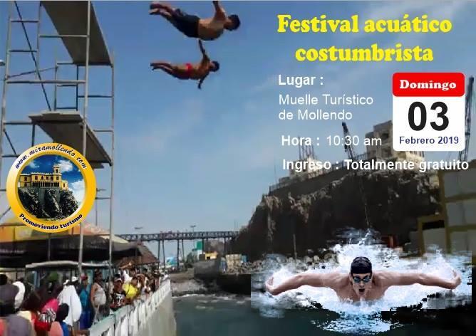 Festival acuático Mollendo