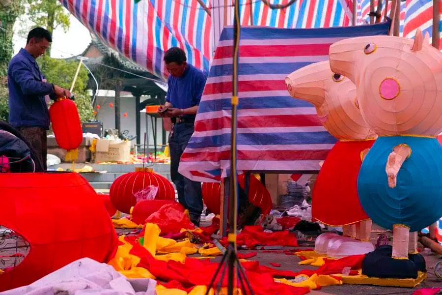 Peppa Pig en el Año del Cerdo Chino