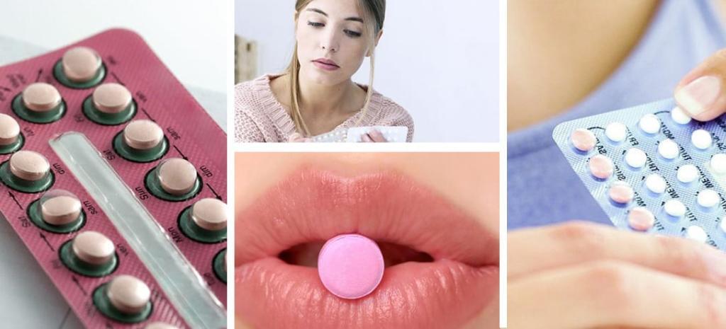 Anticonceptivo oral mujer