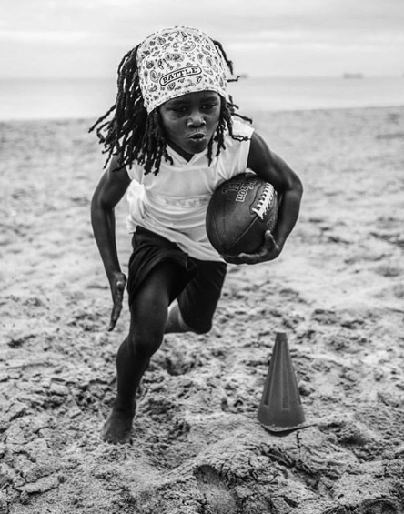 Niño atleta