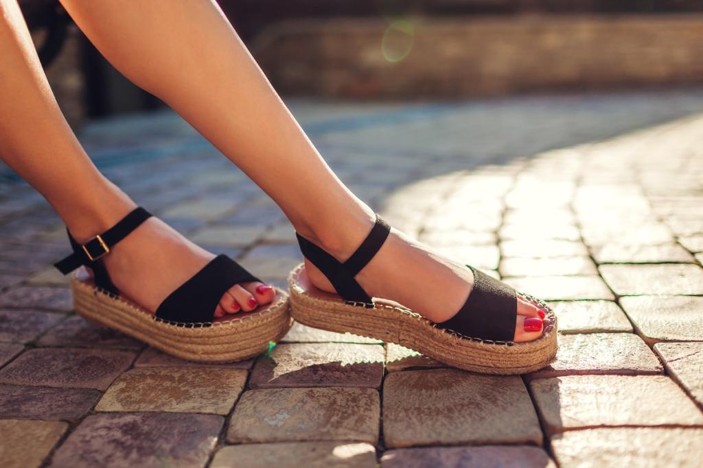 sandalias salud