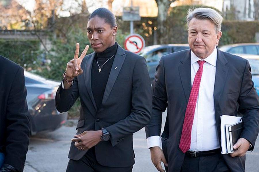 Caster Semenya, ha sido dos veces campeona olímpica de 800 metros.