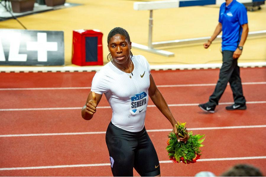 Caster Semenya atleta discriminada