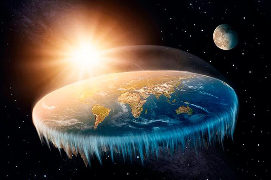 Planeta tierra plano