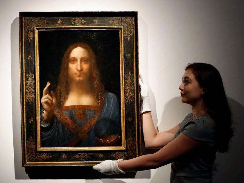 Pintura salvador mundi podría ser falsa