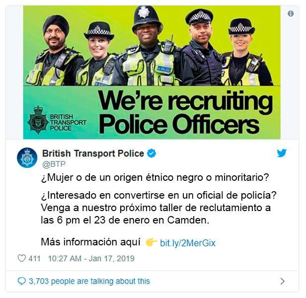 Discriminacion Policia
