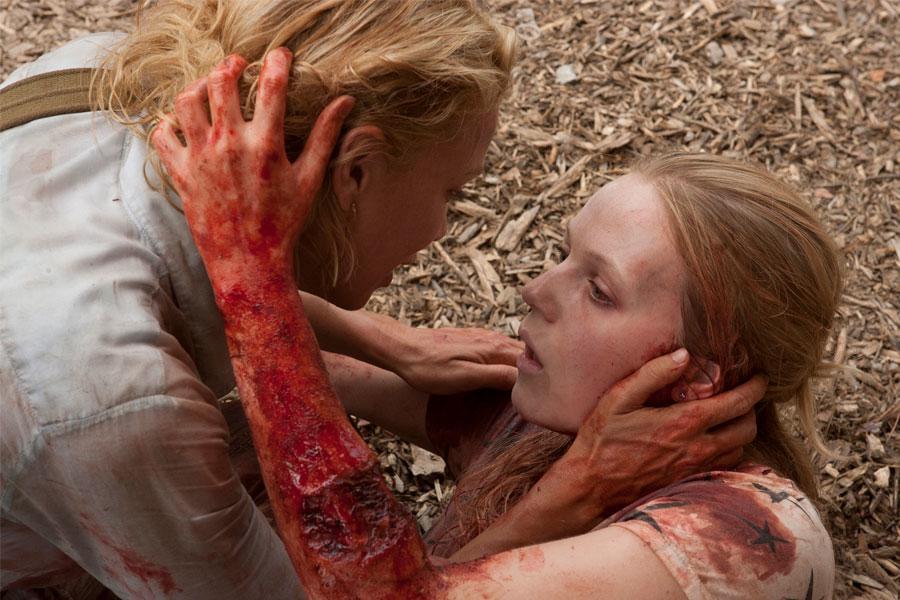 The Walking Dead - Amy Harrison Death