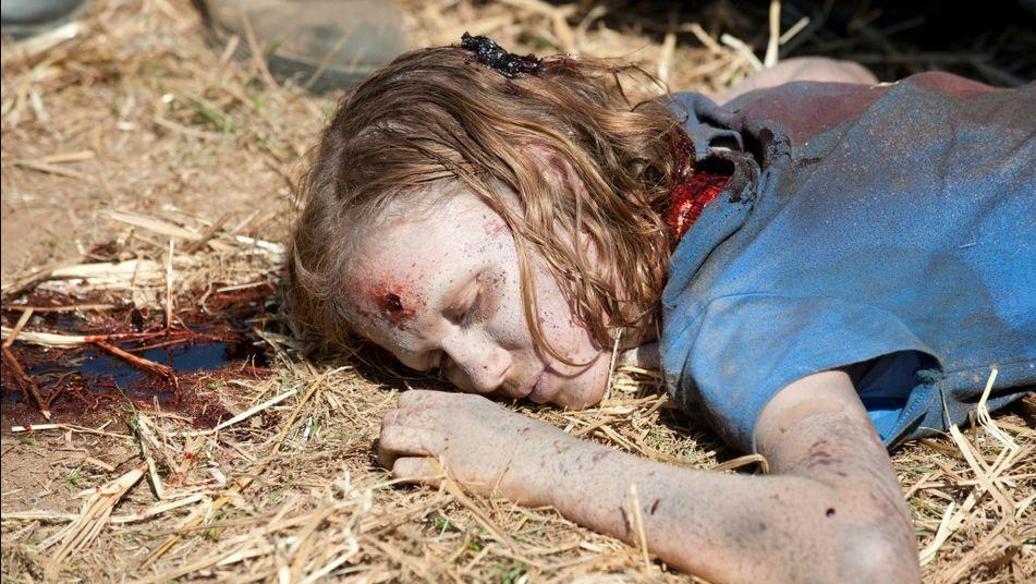 walking dead sophia death