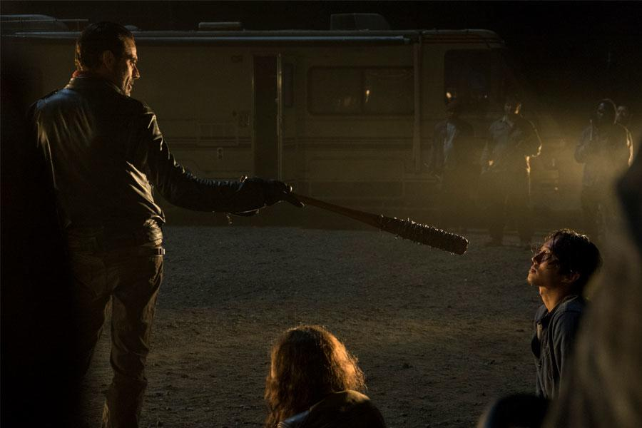 The Walking Dead S7 - EP 1 - Glenn Rhee Death