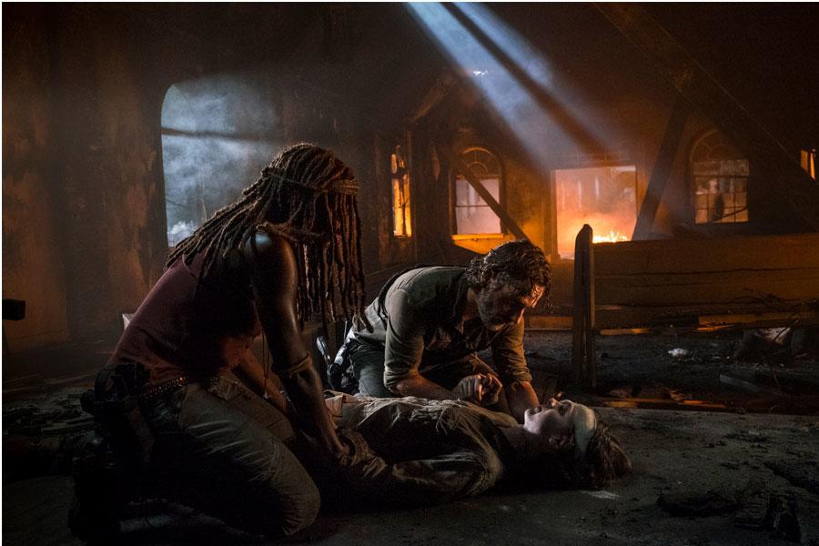 The Walking Dead S8 - EP 9 - Carl Grimes Death