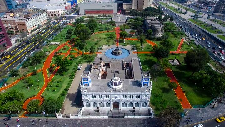 Parque Jauna Alarco de Dammert Lima