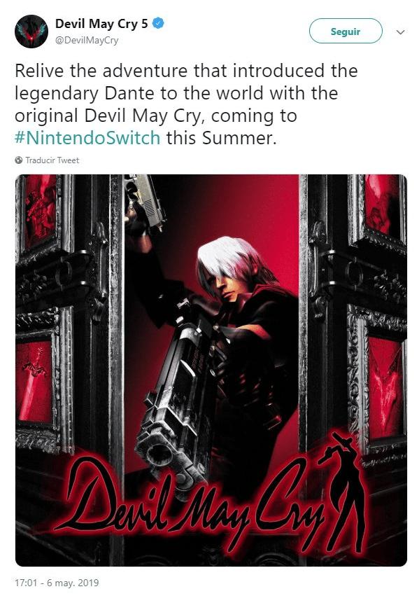 Devil May Cry en Nintendo Switch