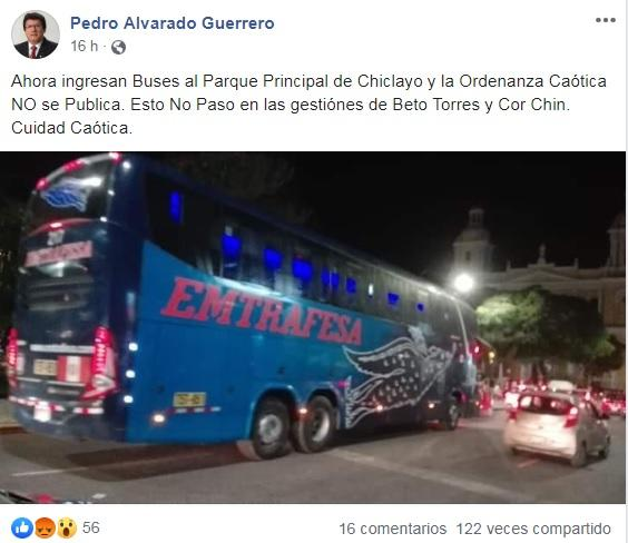 bus transporte interprovincial