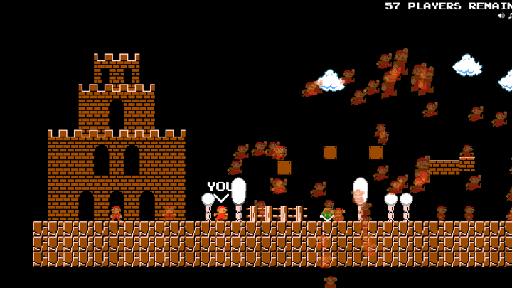 Super Mario Bros Battle Royale